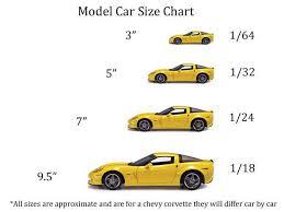Diecast Car Size Chart Diecast Scale Models Diecast Models