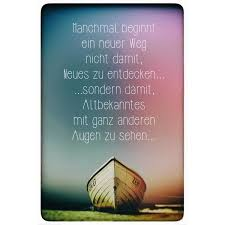 Boot Am Meer Spruch Poster Reinders