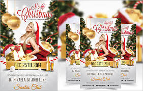 Free Christmas Flyer Templates Download 88 Christmas Flyer Templates Psd Ai Illustrator Word