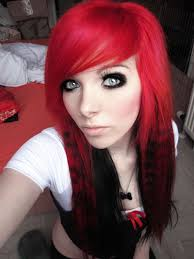 emo images german scene queen emo ira vira pink red hair tails sitemodel hd wallpaper and background photos