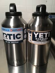 first looks homebrew finds first looks rtic stainless double wall vacuum insulated growler