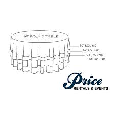 inch diameter table 60