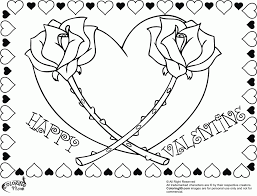 So i've actually created two versions of these coloring pages: Valentine Heart Coloring Pages Coloring Home