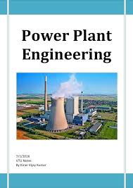 Power Plant Engineering Complete Five Unit Vtu Notes Pdf Download