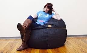 denim bean bag chair elegant engaging phenomenal on furniture with in 8