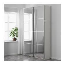 mirror wardrobe. fabulous ikea glass wardrobe pax whiteauli mirror 150x44x236 cm