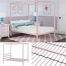 DHP Modern Metal Canopy Full Size Bed Frame 29986407399 | eBay