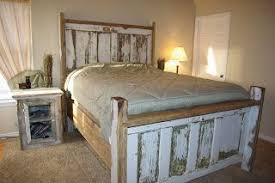 headboard made from old doors reclaimed rustics vine door headboard door bed frame