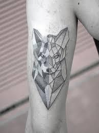 Tattoo Uploaded By Black Minimal Tattoo Geometrywolf