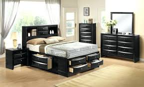Queen Size Platform Bed With Drawers Sets With Drawers Under Bed