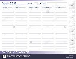 2015 Weekly Planner Or Scheduler With A 2015 Calendar Size A 3 You