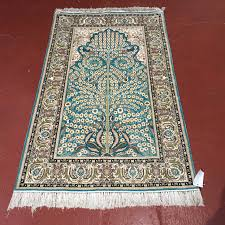 silk tree of life prayer rug