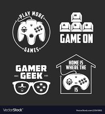 Free Design Games Retro Video Games Related T Shirt Design Set
