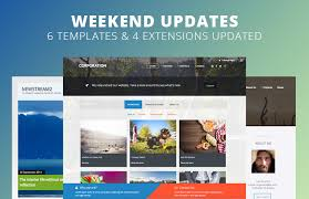 Website Builder Templates New Weekend Updates 488 Joomla Templates And 48 Extensions Updated