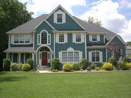 blue exterior paintRecently Blue Exterior Paint Color Ideas For Modern Home  thraamcom