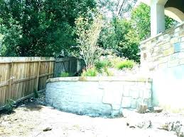 modern cinder block retaining wall decorative concrete block wall cinder fence ideas designs retaining design co