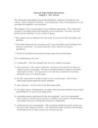 Apa Style Essay Proposal Research Paper Sample Tete De Moinecom