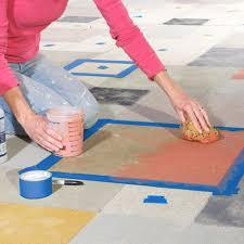 Cover concrete patio ideas Slab Concretestain07 The Garden Glove Diy Concrete Patio Cover Up Ideas The Garden Glove