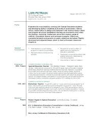 Examples Of Resume Letter Sample Resume Objective With Employment ...