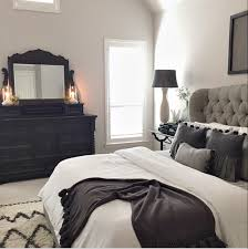 black furniture room ideas. Whimsy Girl Design: Gray, White And Black Master Bedroom. My Bedroom Inspiration. Furniture Room Ideas 2