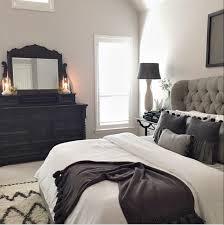 bedroom furniture black and white. Master Bed Tufted Grey Headboard · Black BedroomBlack White And Bedroom Furniture
