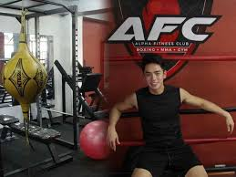 in photos david licauco gives a tour of mma and boxing gym in taft