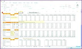 Forecasting Spreadsheet Cash Flow Statement Template Format Excel Spreadsheet