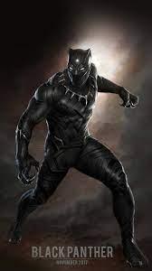 black-panther-art-hero-captain-america ...