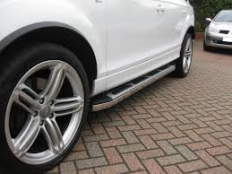 Audi Q7 2005-2015 Suburban Aluminium Abs Side Steps Bars Running ...