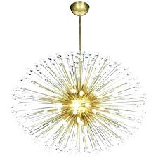 small sputnik chandelier mini gold