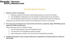 Job Evaluation Review Human Resources Georgia