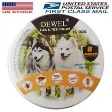 Dewel Pro Guard Flea and Tick Control Collar for Large Dog Over 18lb 8  Month NEW | Buy Products Online with Ubuy Maldives in Affordable Prices.  123746381523