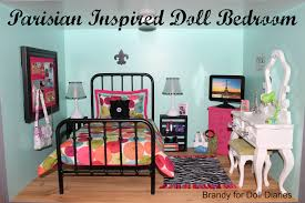 Paris Bedroom Accessories Parisian Inspired Doll Bedroom Doll Diaries