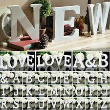 garden plaques 26 large wooden letters