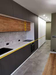 Когато търсите идеи за интериорен дизайн сива кухня, мислете за красиви. Portfolio Siva Mdf Kuhnya Po Porchka Artisans Blgariya