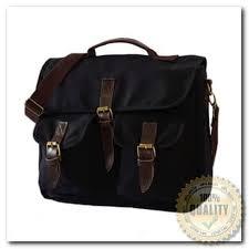 tas promo firefly avner canvas leather messenger bag backpack