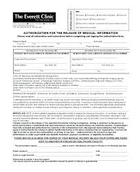 Medical Release Form Sample Custom Standard Medical Records Release Form Consent To Information Request