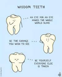 Wisdom Teeth Jokes | Kappit via Relatably.com