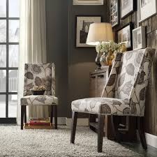 large size of set of two accent chairs chelsea lane classic gray flower with leaves print