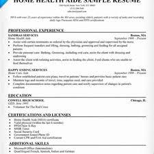 Job Description For Home Healthde Resume Sample Health Aide