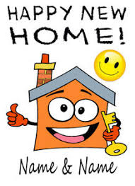 New Home Cartoon Images Details About Personalised Happy New Home House Move Cartoon Card