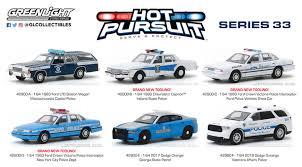 Green Light Cop Cars Greenlight 1 64 Hot Pursuit Series 33 Six Car Set Pre Order