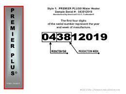 premier plus water heater. Exellent Water Style 1 043812019 And Premier Plus Water Heater I