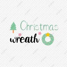 Find the perfect christmas font for your festive season. Christmas Tree Simple Wreath Christmas Svg Art Word Sentence Font Effect Eps For Free Download