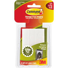 3m velcro strips. Delighful Velcro 3M Command Picture Hanging Strips Decorate And Hang DamageFree Create  Wall Collages Hangs Up To 6 Frames  Walmartcom With 3m Velcro Strips P