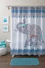 magical thinking elephant shower curtain ideas of buddha shower curtain
