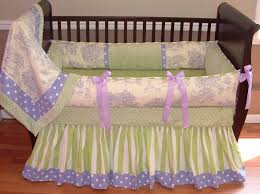 graceful lavender baby bedding 25 20toile 20baby 20bedding dressers