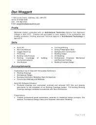 Sample Autocad Drafter Resume Electrical Drafter Sample Resume Podarki Co