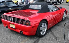 A 348 spyder convertible was introduced in 1993 and lasted through '95, one year longer than the coupe and targa. Ferrari 348 Wikiwand