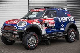 The Mini Strong Crews In The Mini John Cooper Works Rally X Raid Team